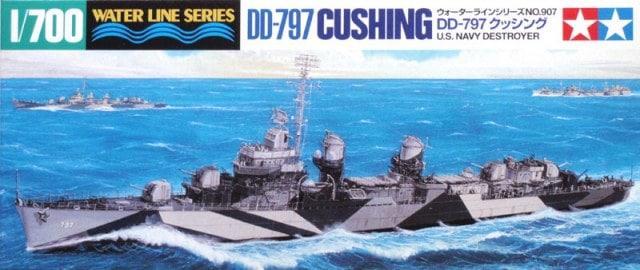 US Destroyer Cushing