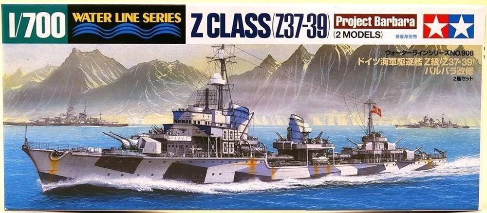 Destroyer Z Class Barbara 2