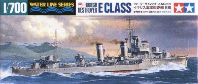 British E Class Destroyer