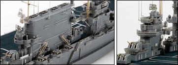 1/700 Saratoga with Pontos Detail Up Set