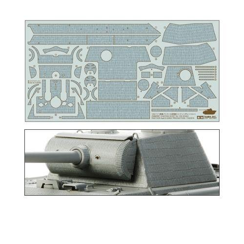 Panther Ausf.G Early Zimmerit Sheet