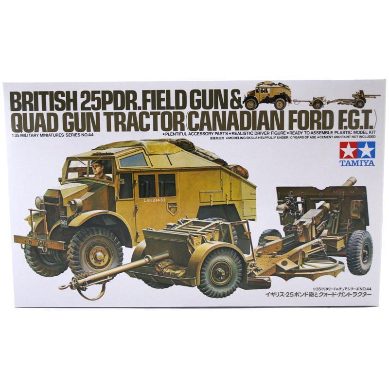 British 25 pounder & Quad Tractor
