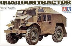 British Quad Gun Tractor   LTD