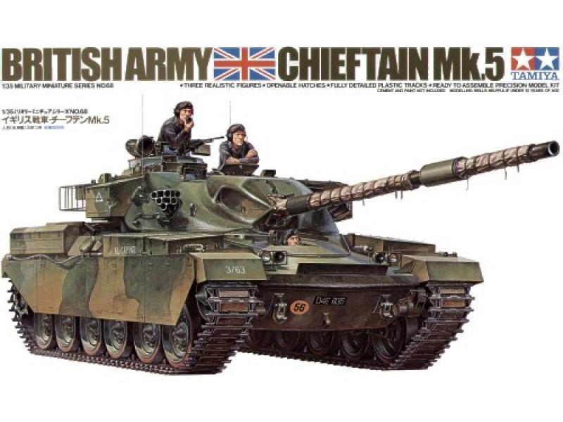 British Chieftain Mk. 5 Tank