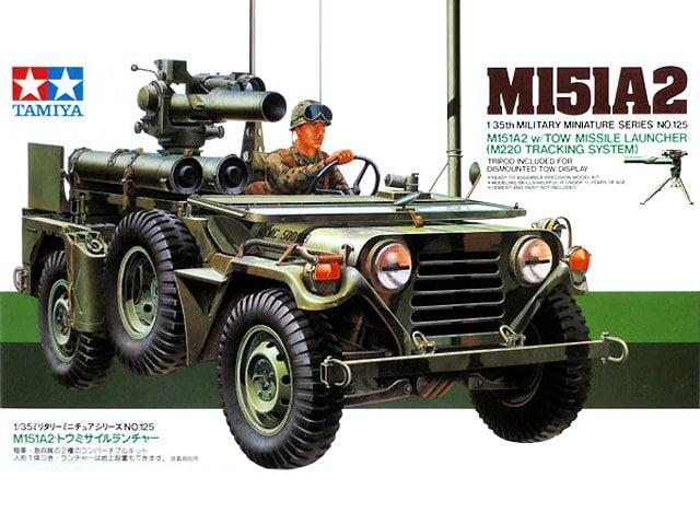 M151A2 w/Tow Missile