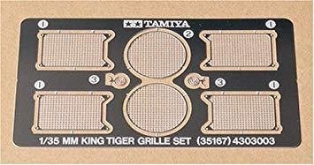 King Tiger Etched Grille