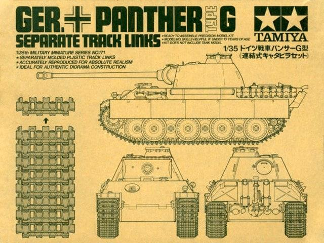 Panther G Separate Track Links