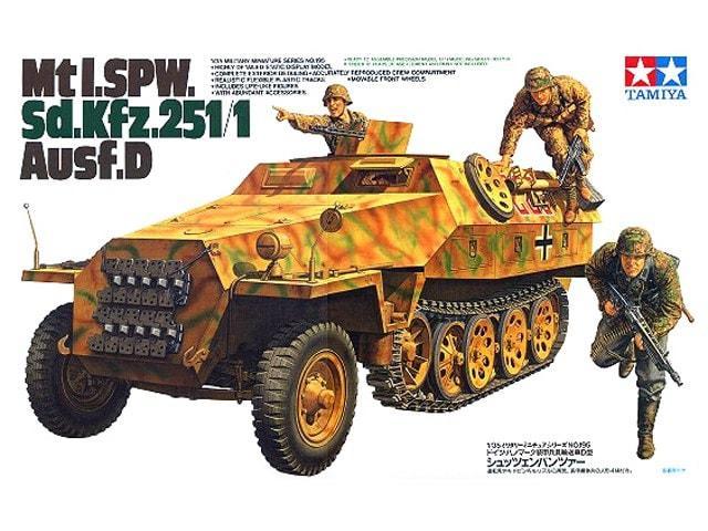 Mtl.SPW Sd.Kfz. 251/1 Ausf.D