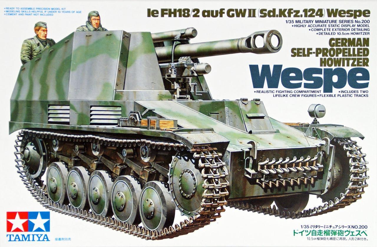 German Self-Pro.Howitzer Wespe