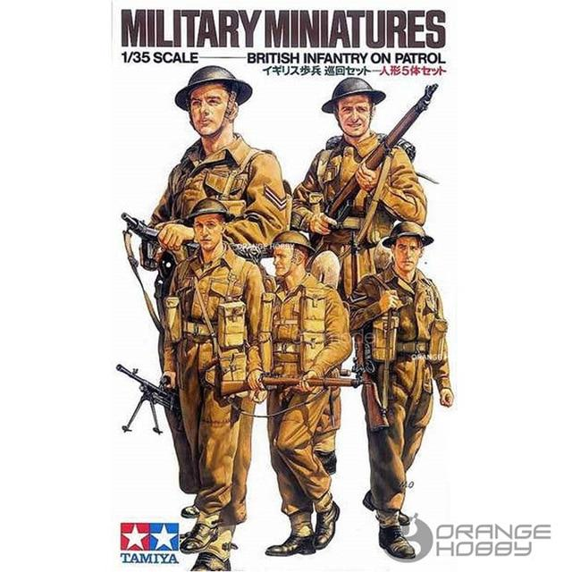 British Infantry on Patrol