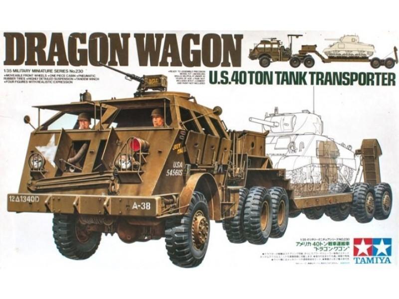 Tank Transporter Dragon Wagon
