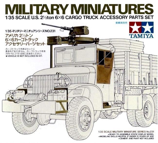 U. S. 2.5ton 6x6 Accessory Set