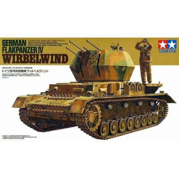 German Flakpanzer  Wirbelwind