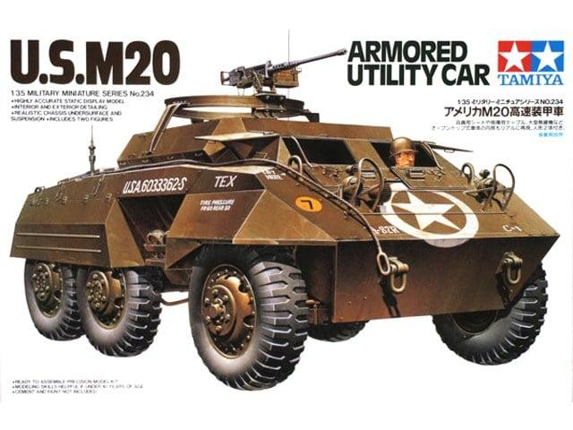 U. S. M20 Armored Utility Car
