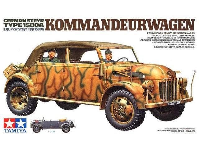 German Steyr Kommandeurwagen