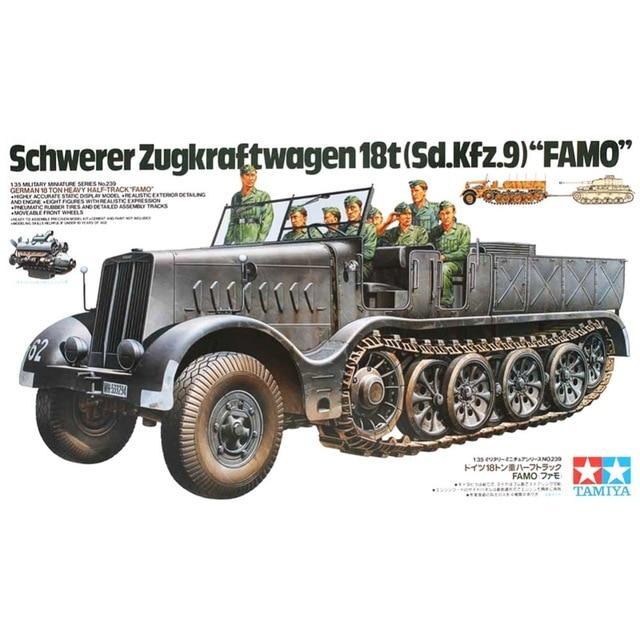 German 18 ton Half-Track FAMO