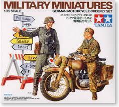 German Motorcycle Orderly Set
