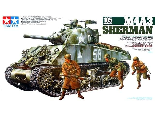 M4A3 Sherman w 105mm Howitzer