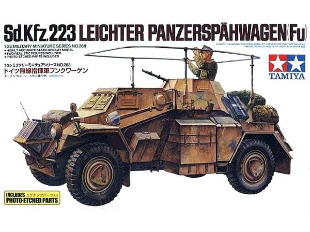 Sd.Kfz.223 with Photo Etched Part