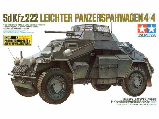 Sd.Kfz. 222 w photo etched parts