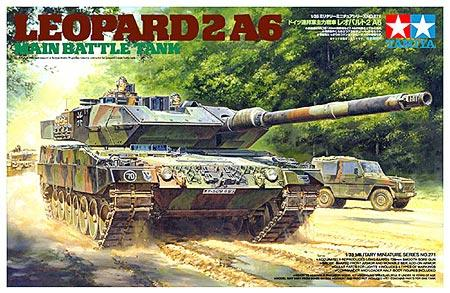 Leopard 2 A6 Main Battle Tank