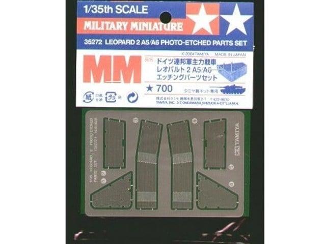 Leopard 2 photo etched parts set