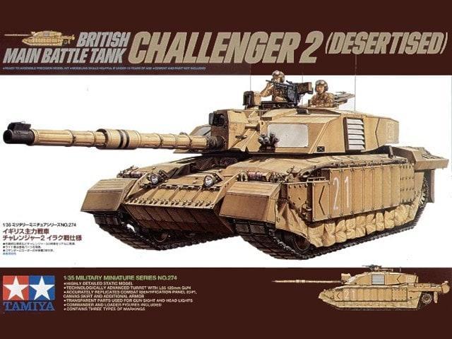 Challenger 2 (Desertised)