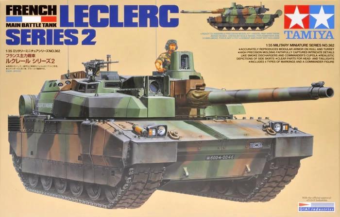 Leclerc French Main Battletank