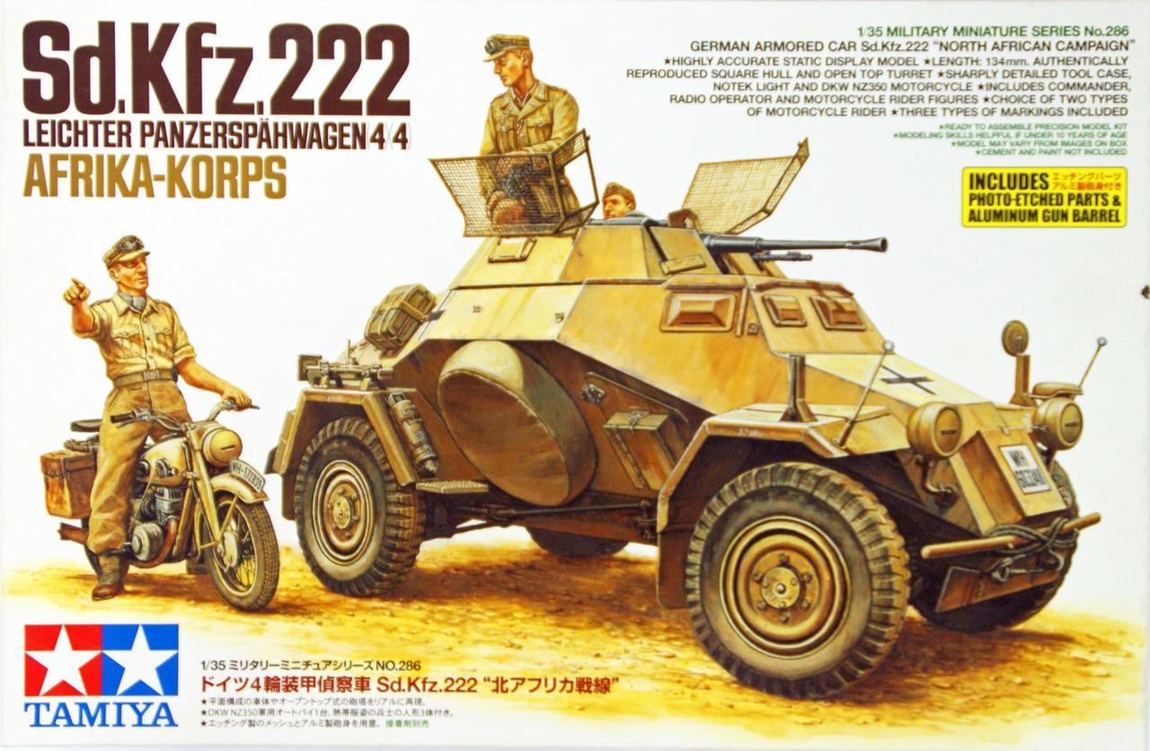 Armoured Car Sd.Kfz 222 Africa