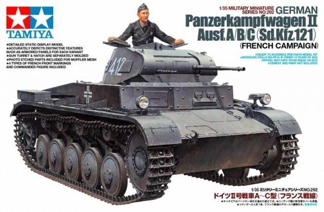 Pz kpfw II Ausf A/B/C