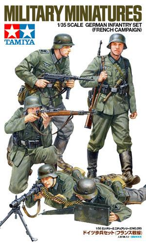 Ger Infantry French Campaign