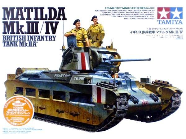 Matilda MKIII/IV British Infantry Tank