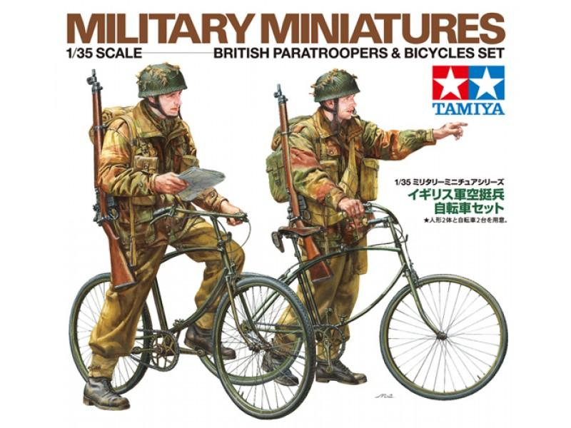 British Paratroopers with Bikes
