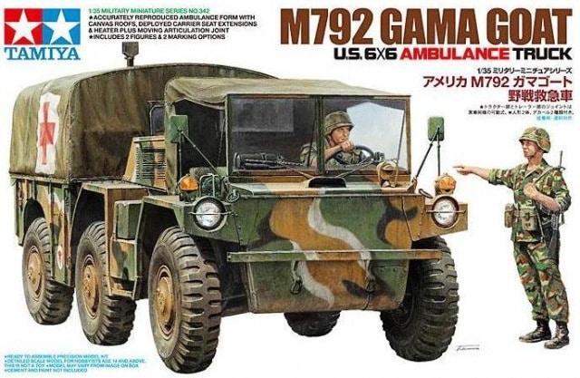 M792 Ambulance Gama Goat