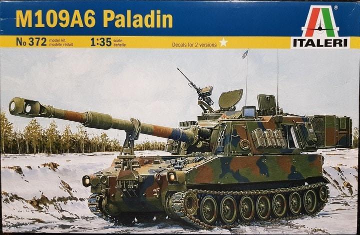 M109A6 Paladin [Italeri]    LTD