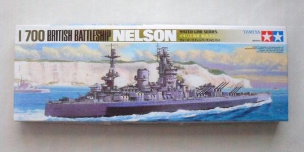 HMS Nelson Battleship