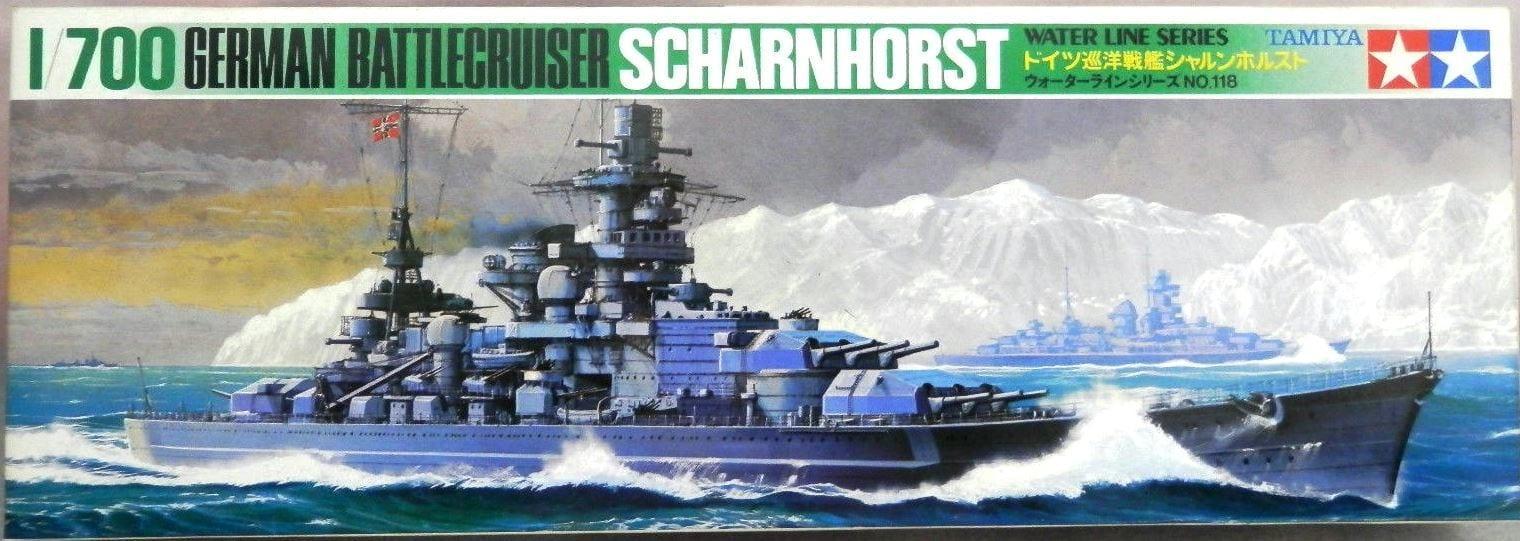 Scharnhorst Battleship (German)