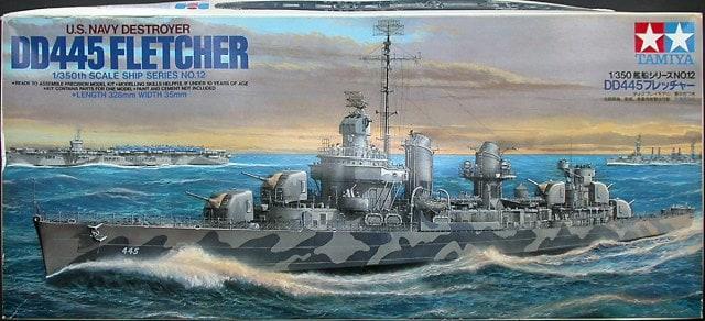 U.S. Navy DD445 Fletcher