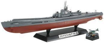 Jap Navy Aircraft Carrier Sub I-400