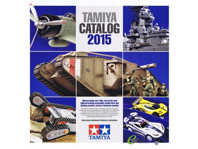 Tamiya 2015 Plastic Model Catalogue