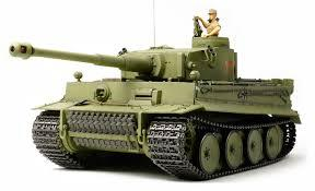 R/C 1/16 Tiger I Early w/Option Kit