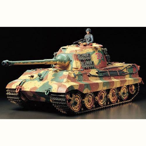 R/C 1/16 King Tiger w Option Kit