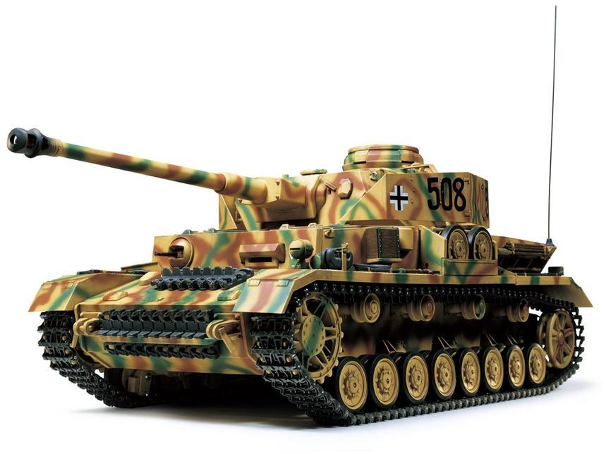 R/C Panzer IV J w/Option Kit