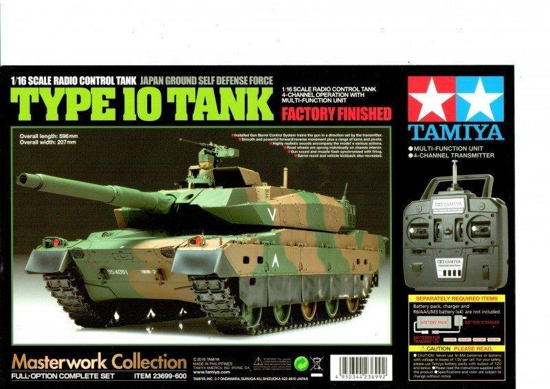 RC JGSDF TYPE 10 Tank with Option kit
