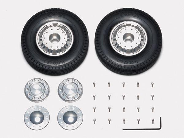 1/14 20 Spoke Alum Wheels Front