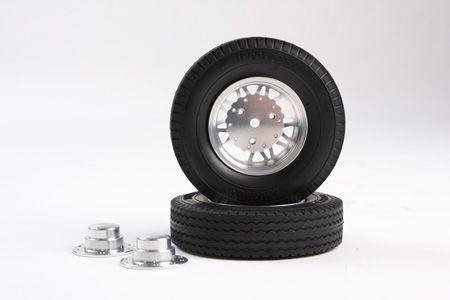 1/14 20 Spoke Alum Wheels Rear