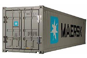 Maersk 40' Container without trailer