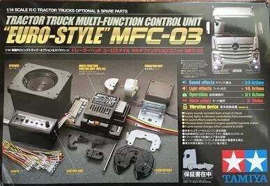 Euro Tractor truck Multi Function Control