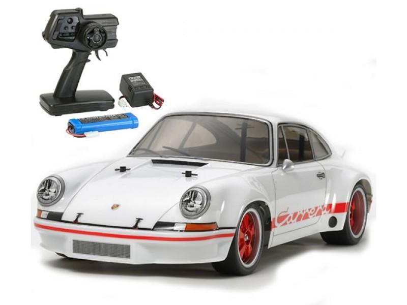 XB Porsche Carrera 911 white TT-02