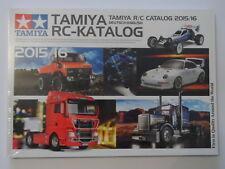 Tamiya RC Catalogue 2015 / 2016